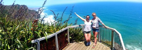 Te Huia Tours: Lisa 28 & Ida 30 from Norway