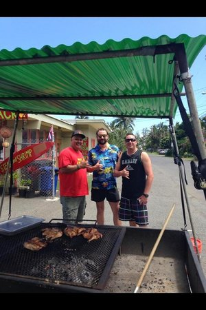 Ono Steaks Lunchwagon : The best place in ohau