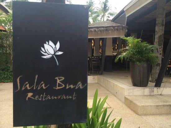 Sala Bua Restaurant : 入り口
