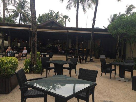 Sala Bua Restaurant : テラス席