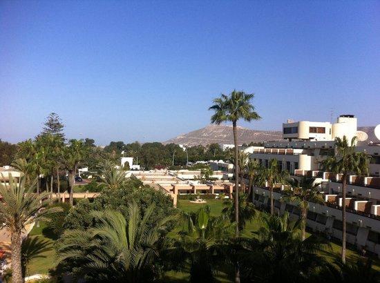 Club Marmara Agadir: Vue depuis notre chambre