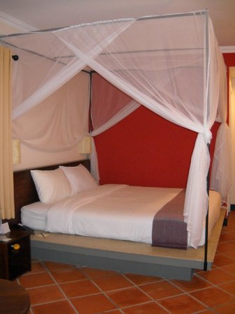 Victoria Nui Sam Lodge : BEDROOM UPON ARRIVAL