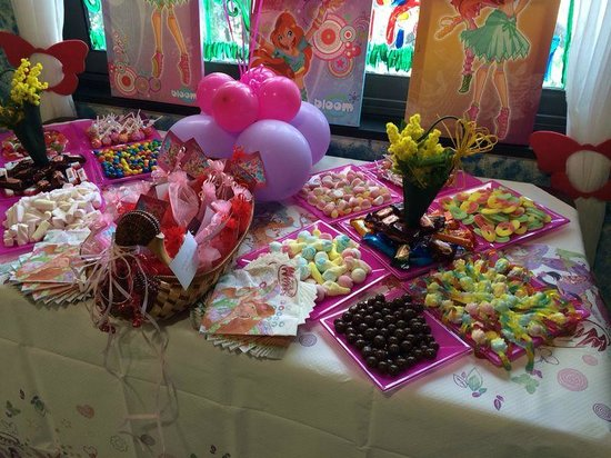 Buffet Di Dolci Per Compleanno : Buffet di caramelle per compleanno foto di il parco del colombaio