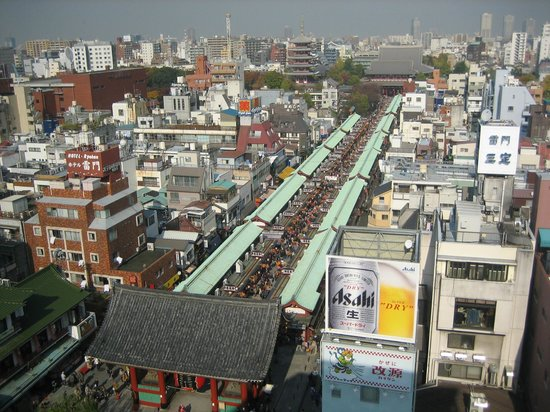 Asakusa Culture Tourist Information Center : see-sight from 8F