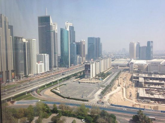 Jumeirah Emirates Towers: View from the room