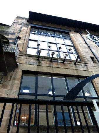 The Glasgow School of Art: Glasgow School of Art exterior