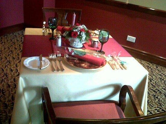 Bruschetta Italian Restaurant: Candle Light Dinner Tables .... @Bruschetta .