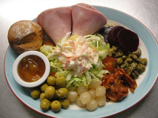 The Quaich - Cafe and Snack Bar: The Quaich Cafe- Ham Salad