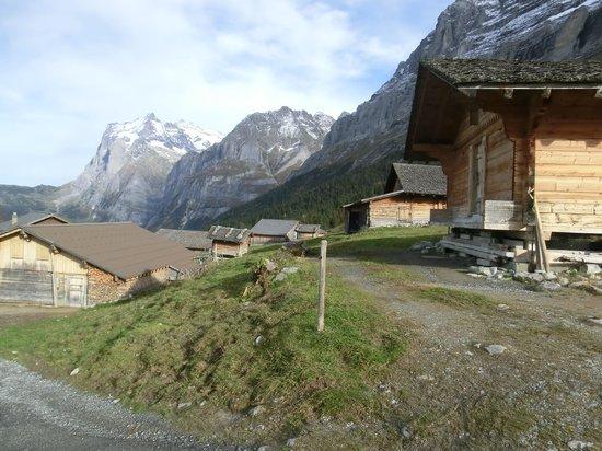 Alpiglen: アルピグレンの村