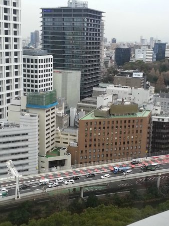 Hotel New Otani Tokyo The Main: view from bedroom