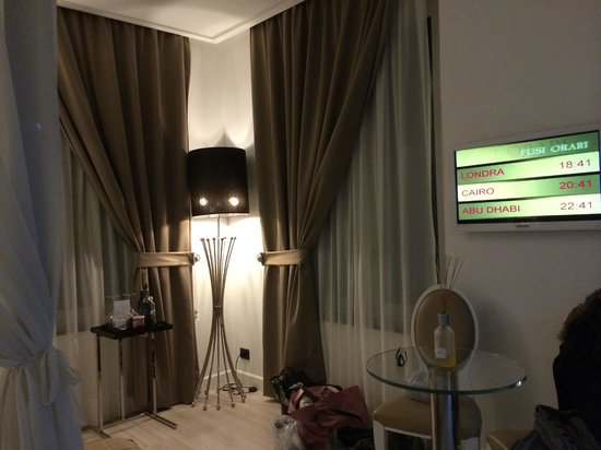 Hotel Santa Margherita Palace : Corner windows