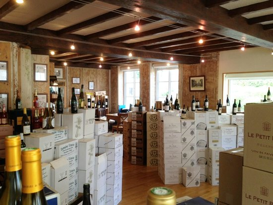 Boursot's Wine Collection: Shop interior