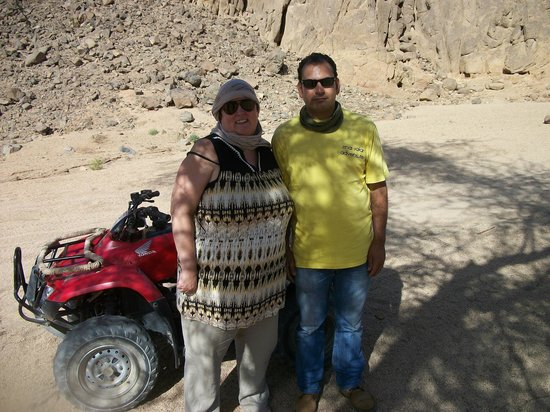 Sinai Safari Adventures : With our guide Mo