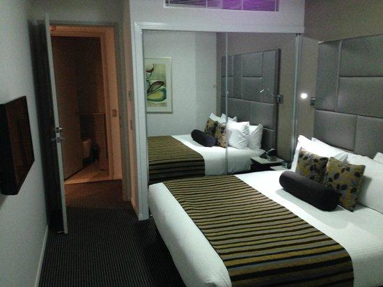 Meriton Suites Herschel Street, Brisbane: bedroom