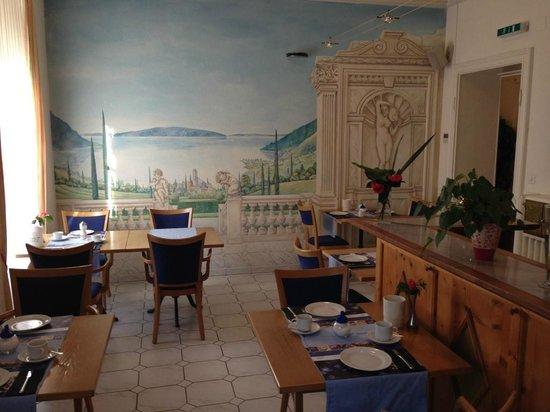 Hotel Alexandra: Salle du petit-déjeuner