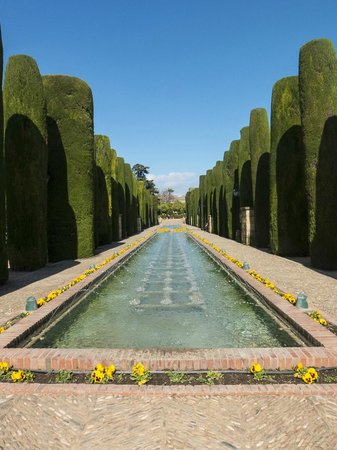 Alcazar de los Reyes Cristianos: Tree Lined Pools
