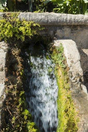 Alcazar de los Reyes Cristianos: Waterfall