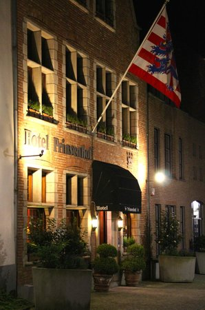 Hotel Prinsenhof Bruges : Located on a very quiet road