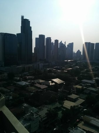 City Garden Hotel Makati: 窓からの眺め