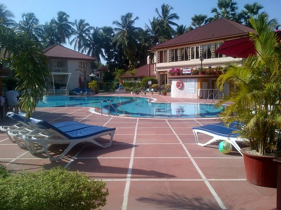 Radhika Beach Resort: View of the pool