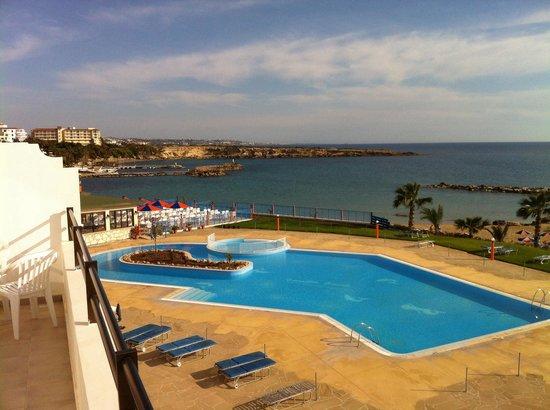 Corallia Beach Hotel Apartments : From the balcony