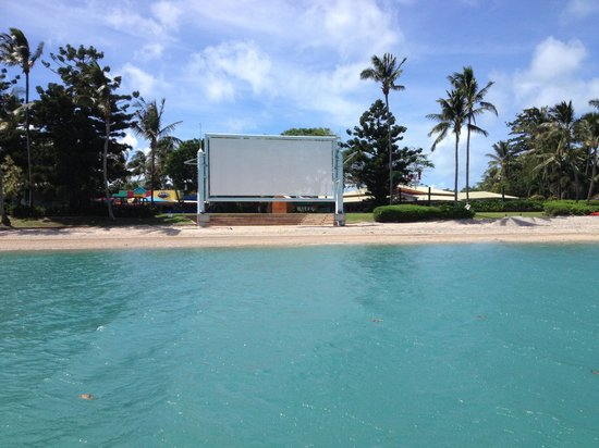 Daydream Island Resort & Spa: Open air cinema