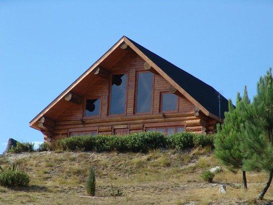 The Wooden Houses At Diverlanhoso Parque Aventura