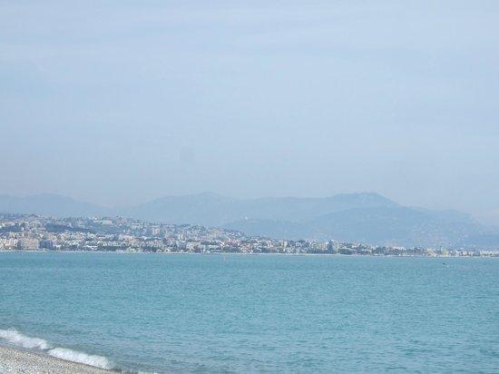 Mercure Villeneuve Loubet Plage : View towards Nice