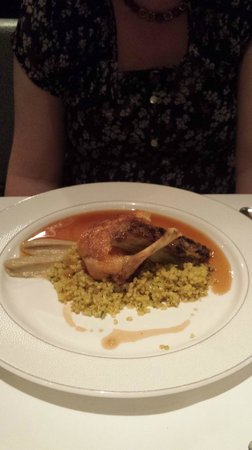 Roux at The Landau: my wifes main course