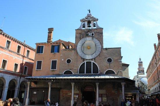 Rialtobrücke: San Giacomo di Rialto
