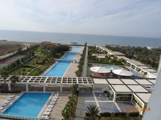 Kervansaray Hotel Kundu: sea view from 7 floor