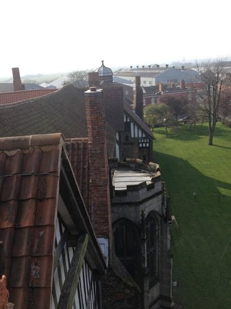 Gainsborough Old Hall: View from the tower
