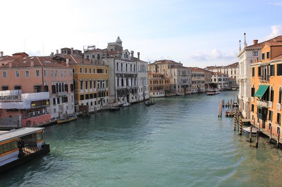 Ponte dell'Accademia: towards Dorsoduro