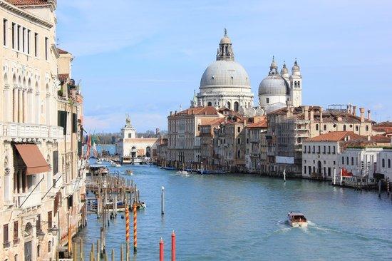 Ponte dell'Accademia : towards Santa Maria