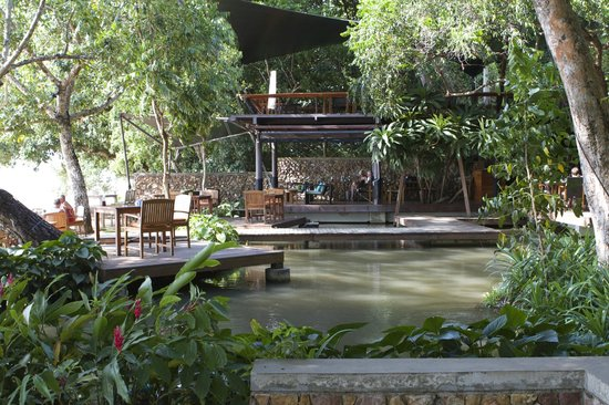 The Tubkaak Krabi Boutique Resort: One of the restaurants