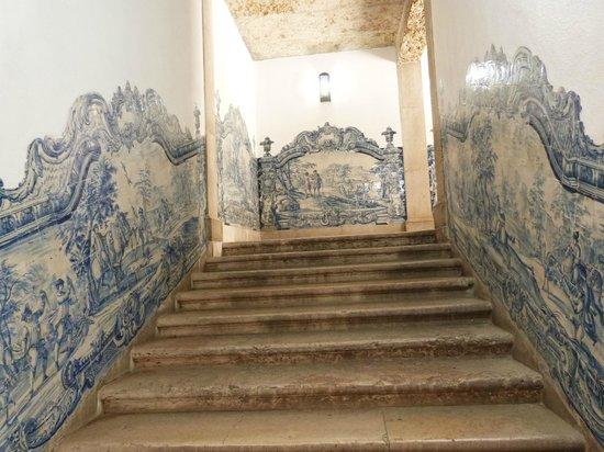 Igreja da Sao Vicente de Fora: montée vers la terrasse