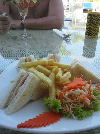 Patong Hemingway's Hotel : Lunch