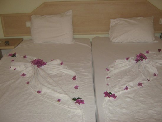 Ant Apart Otel: bed