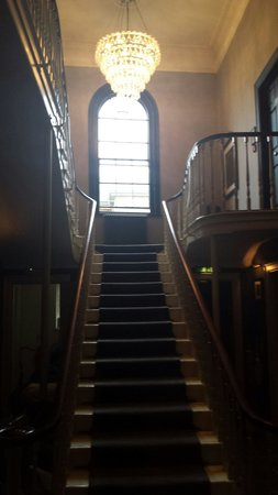 Hotel du Vin York: Central staircase which led to our room
