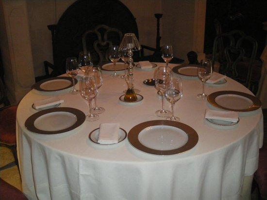 Villa Mazarin: salle de restaurant