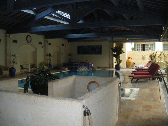 Villa Mazarin : piscine et jaccusi