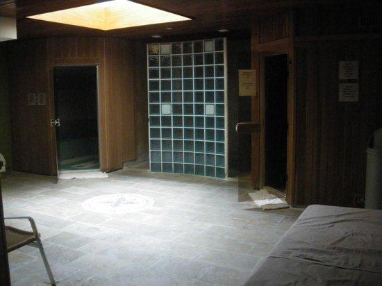 Villa Mazarin : sauna hamam
