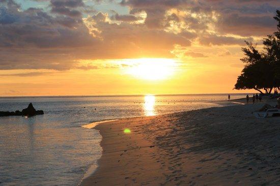Sands Suites Resort & Spa: tramonto