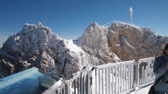Zugspitze : Вид со смотровой площадки