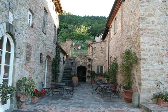 Hotel Villa Volpi : entrata hotel