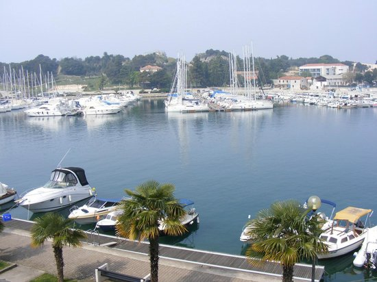 Apartments Riva: Vrsar Marina form the balcony