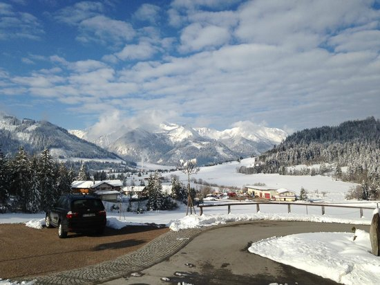 Bergblick Ferienhotel: Aussicht