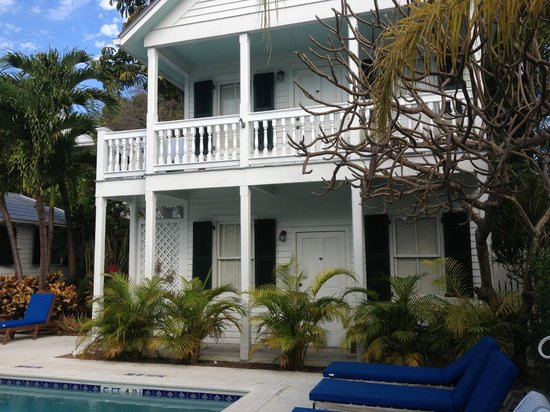 The Conch House Heritage Inn: poolside house~ Caribbean is downstairs