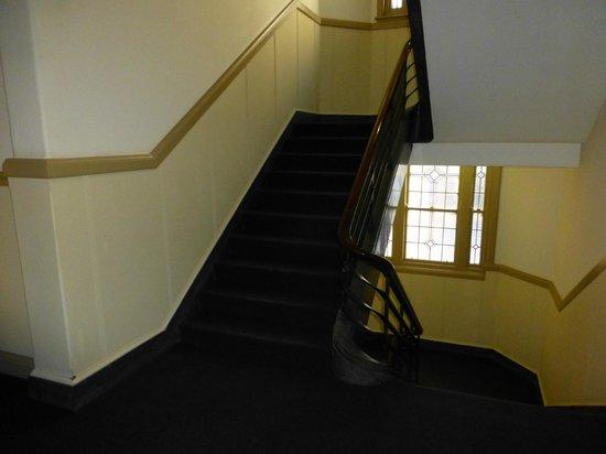 Criterion Hotel Perth : Criterion Hotel - Treppen (alternativ zum Lift)