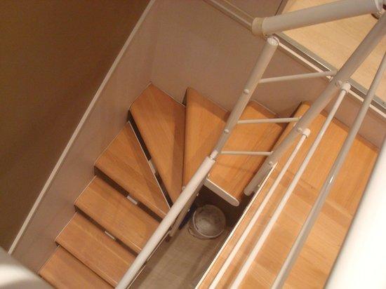 Coronado Hotel : Escaleras de la habitación